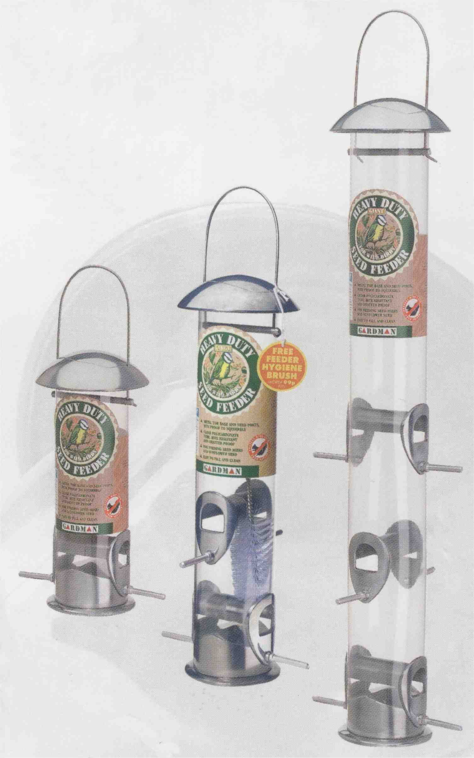feeder handmade gardman tip projects squirrel heavy proof duty pole peanut bird junkie